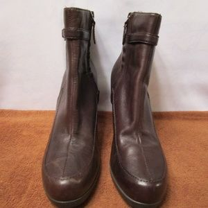 Reba Brown Ankle Boots